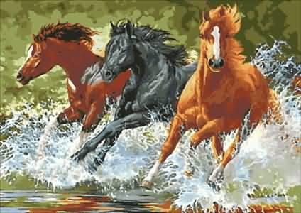 Бягащи коне